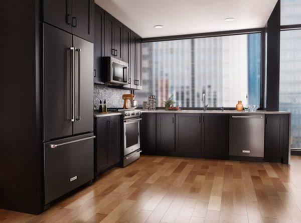 Роскошный интерьер кухни