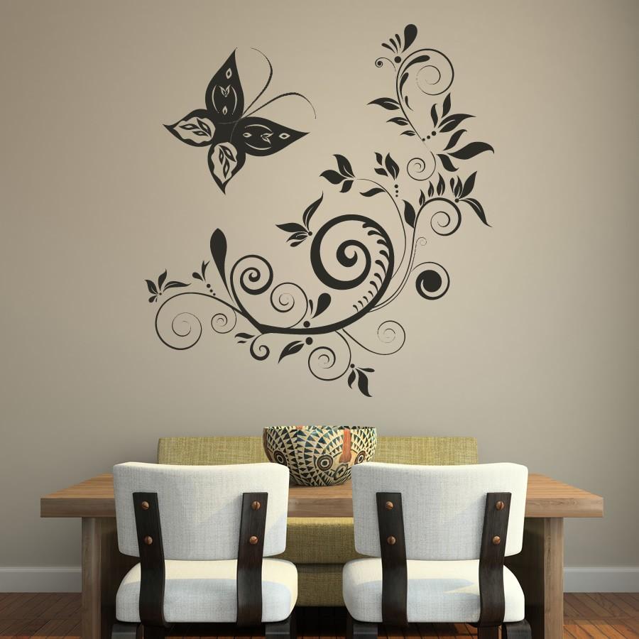 Надписью сомневалась, рисунок на стену в комнате