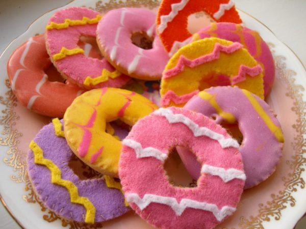 Печенье из фетра