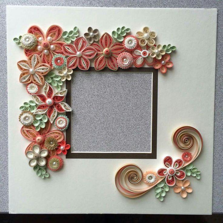 Красивые рамки для открыток своими руками