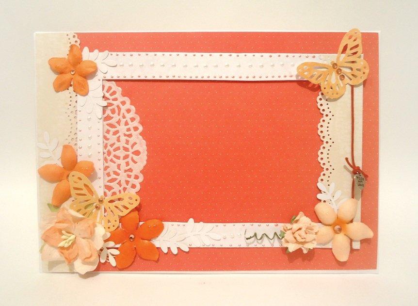 Рамка для открытки из бумаги своими руками, рождеством христовым