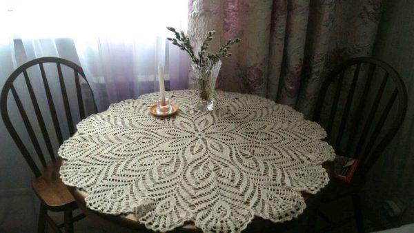 Скатерть по размеру стола
