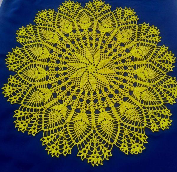 Жёлтая салфетка