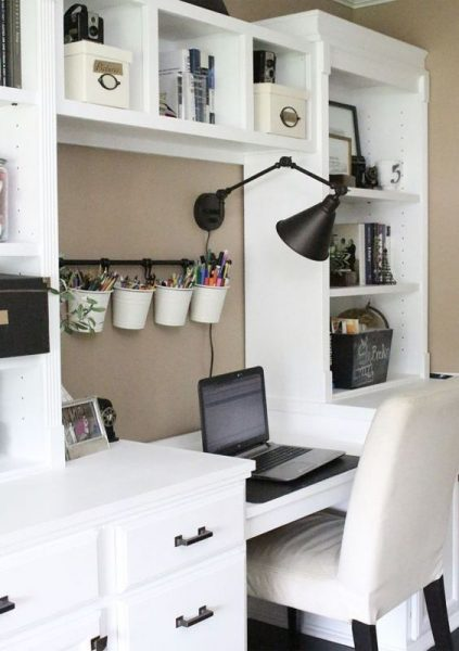 Экономия пространства на столе