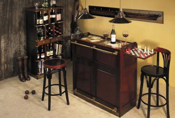 Место для игр и распития напитков