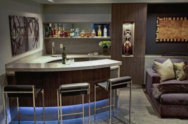 Современный домашний бар