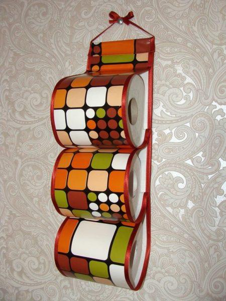 Органайзер для хранения туалетной бумаги