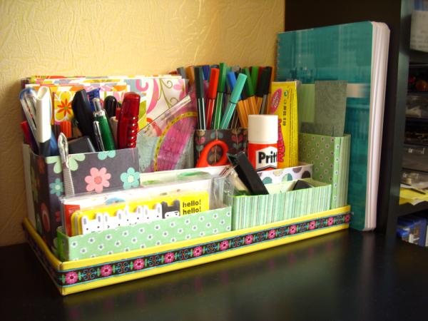 Организация пространства на столе