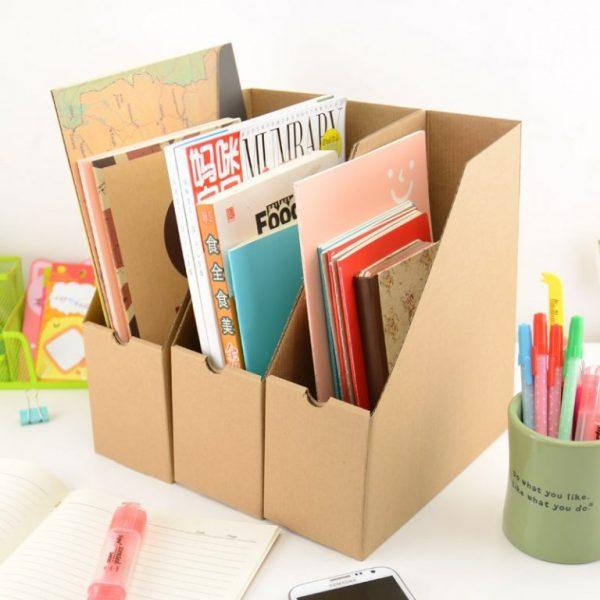 Хранение журналов, книг, тетрадей в органайзере