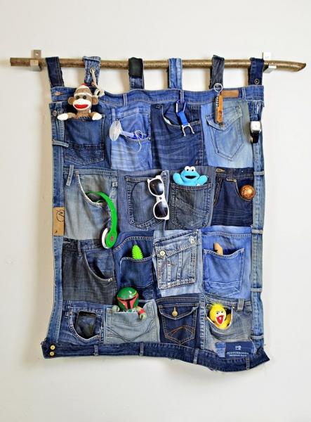 Органайзер из джинс