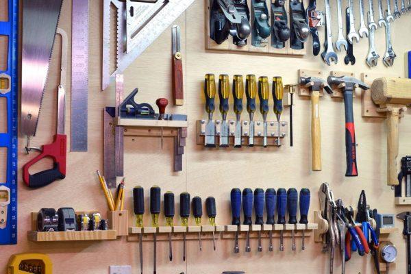 Доска с инструментами