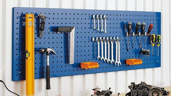 Инструменты на листе