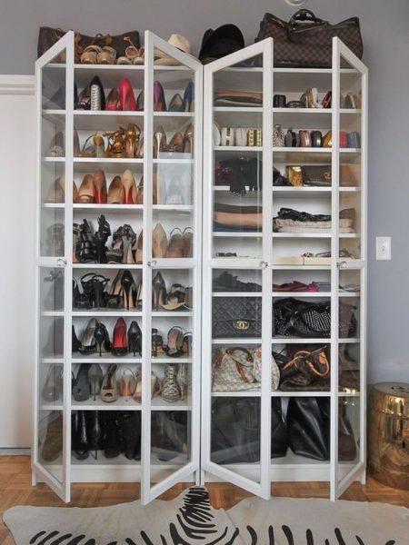 Высокие шкафы для обуви и других предметов