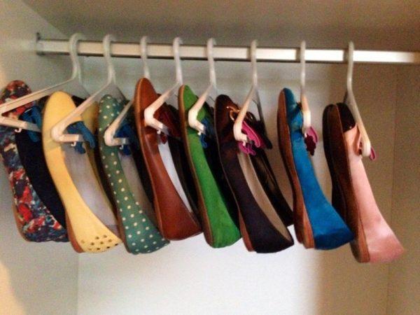 Вешалка для хранения обуви