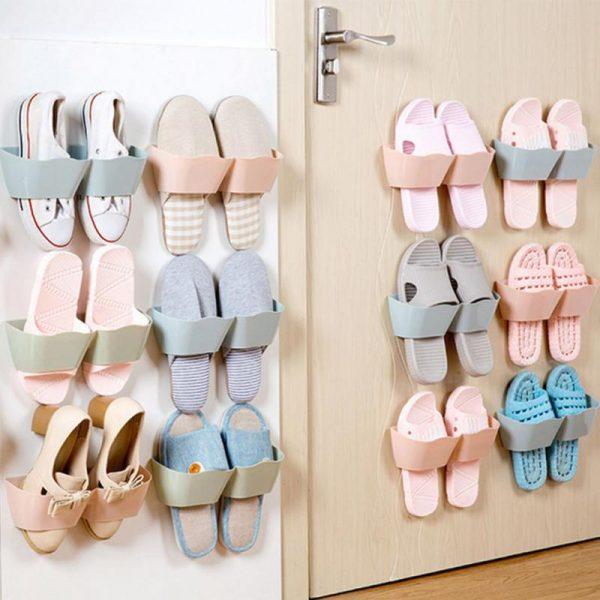 Держатели для обуви на стене