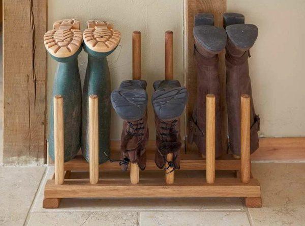 Устройство для хранения высокой обуви