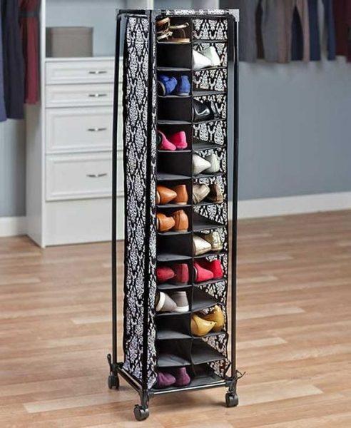 Тканевые полки для обуви