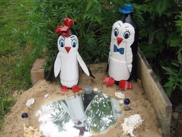 Уголок с пингвинами