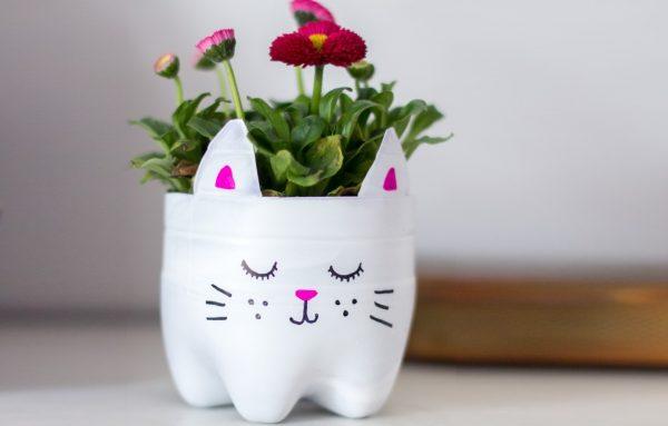 Ваза в виде котика