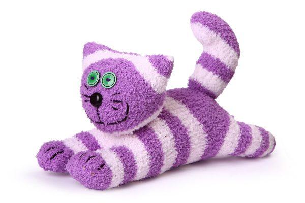 Пушистый котик из носка