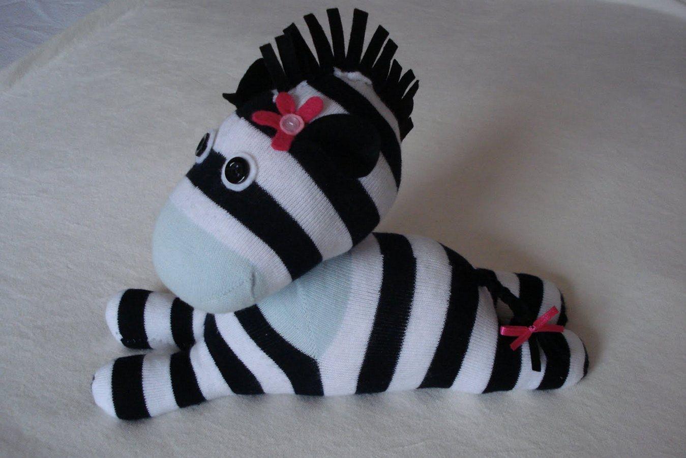 игрушки из носков своими руками выкройки фото один