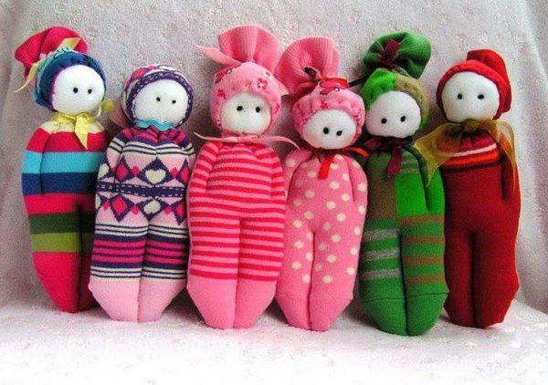Куколки из носков