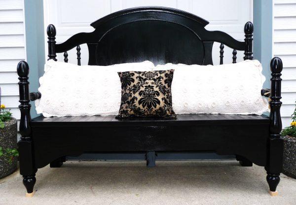 что можно сделать из старой кровати