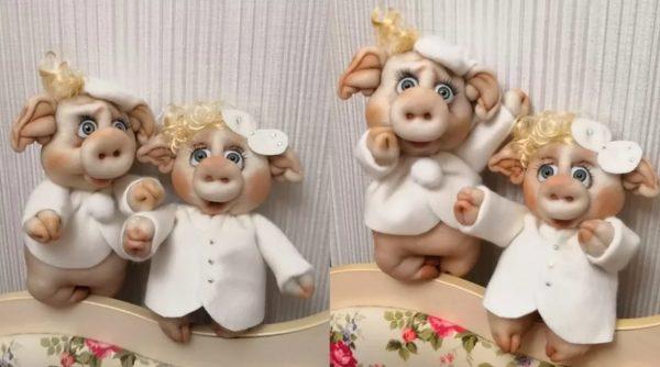 Свинки из капроновых колготок