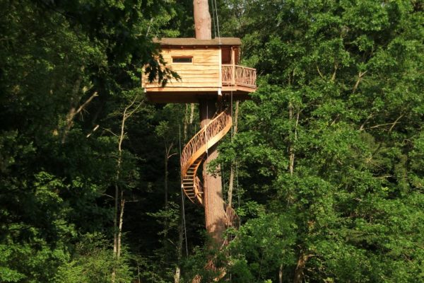 Дом с винтовой лестницей