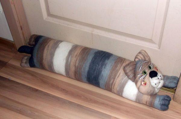 Вязаный котик