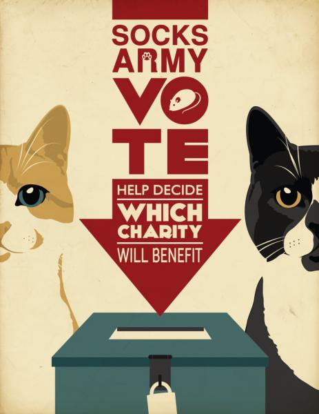 Банер с сайта кота Сокингтона