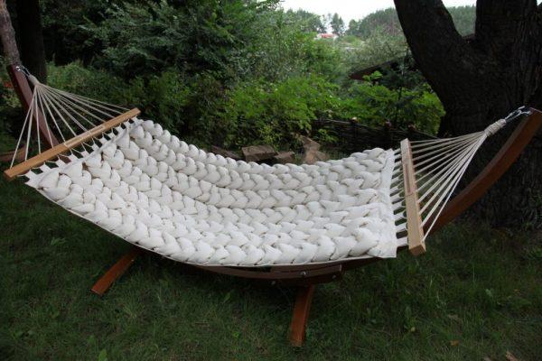 Гамак с плетением