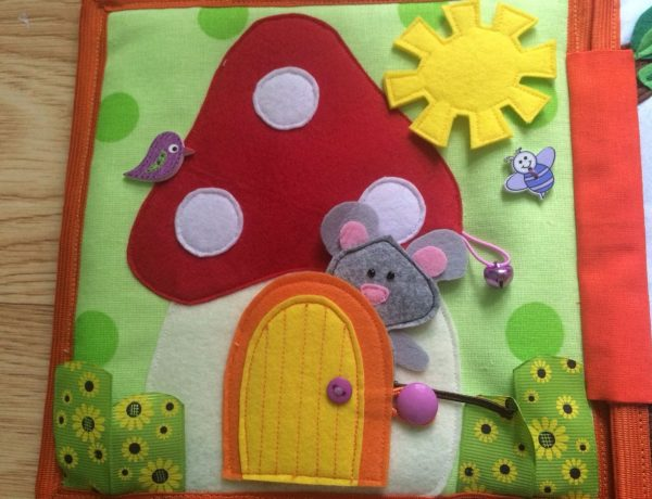 Мышка в грибочке