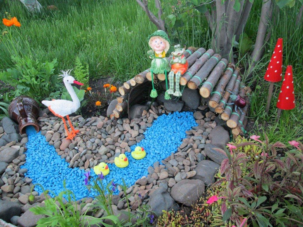 украшение сада и огорода своими руками фото формируется центральной