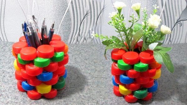 Стаканчики под ручки или цветы