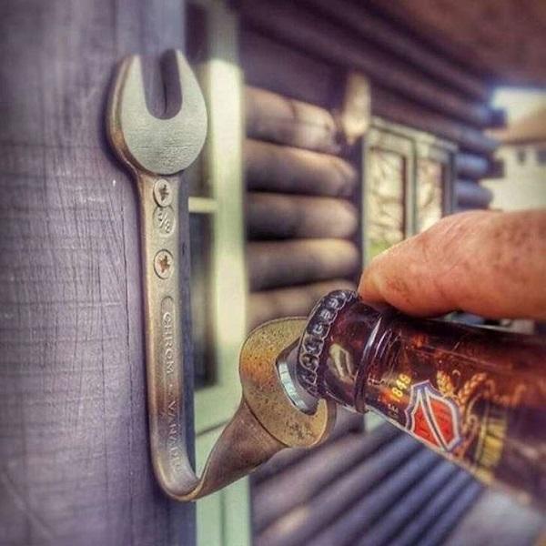 Открывалка из гаечного ключа