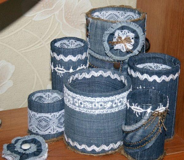 Декорирование ажурными ленточками