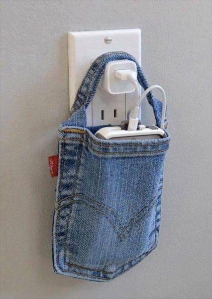 Кармашек для зарядки телефона