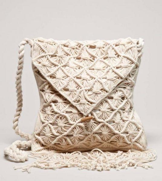 Интересный узор на сумочке