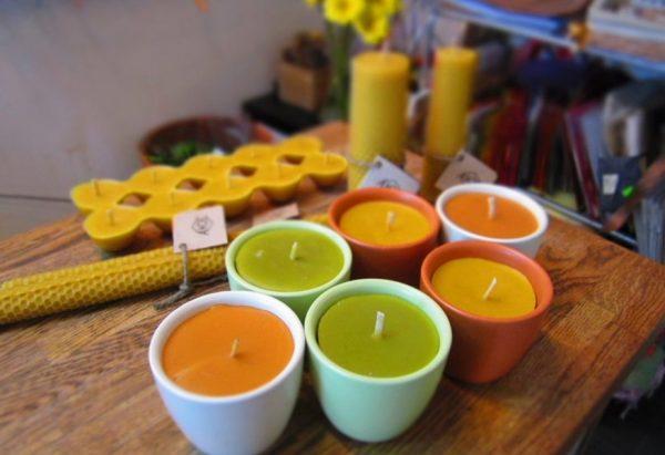 Маленькие декоративные свечи