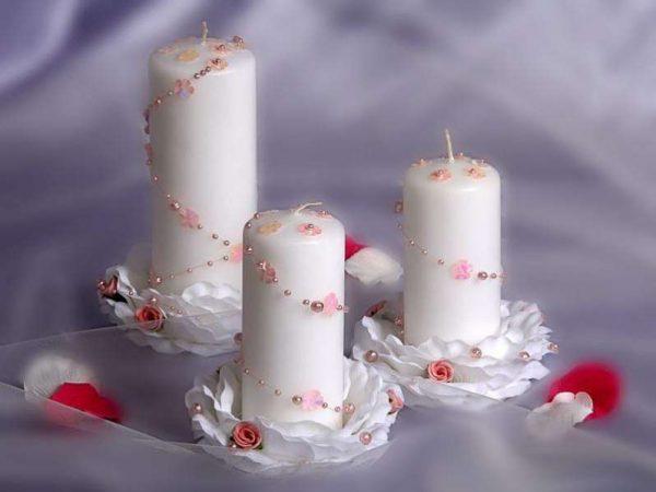 украшения свечей