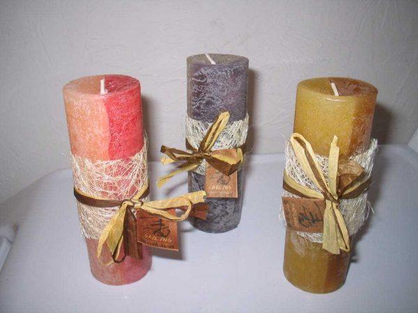 Бантики на свечах