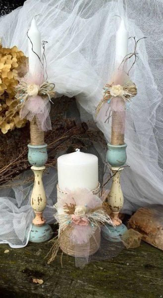декора свечей