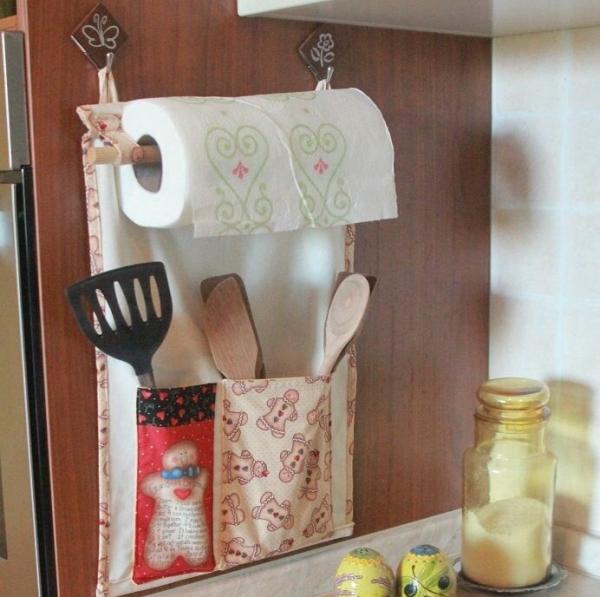 Тканевый органайзер для кухни