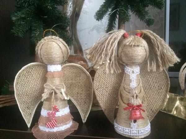 ангелы из джута