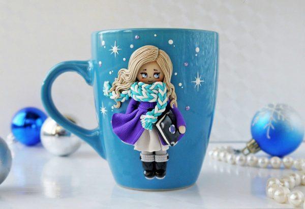 Снежная девочка