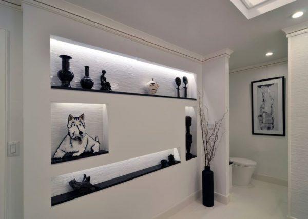 Единый стиль ниши и комнаты