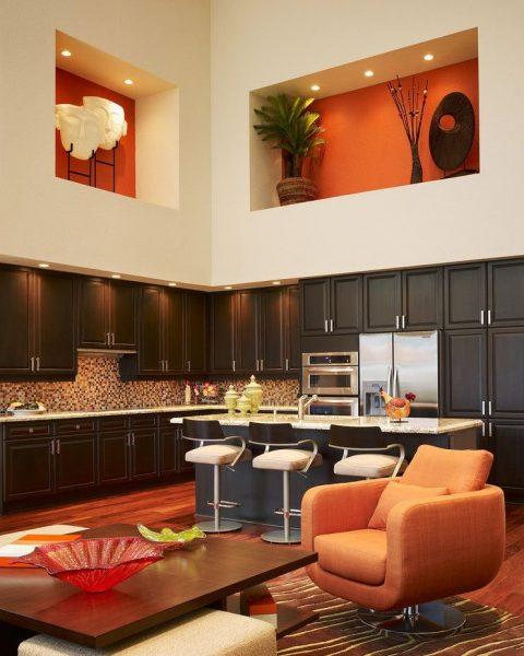 Декоративные ниши на кухне