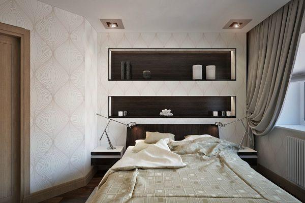Ниши над кроватью