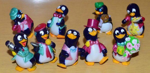 Разные пингвины
